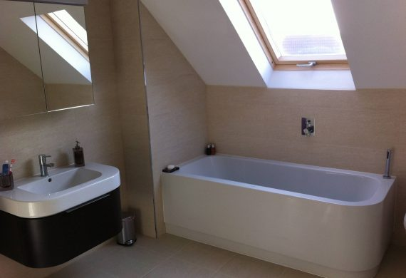 Completed bathroom installation in Wolverhampton