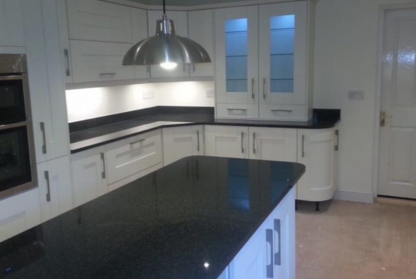 New lighting and units for kitchens in Wolverhampton