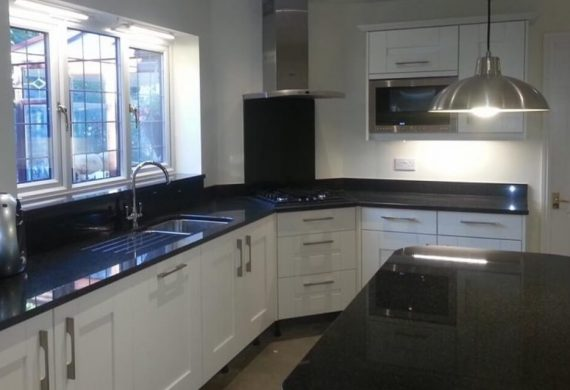 Stylish completed kitchens in Wolverhampton